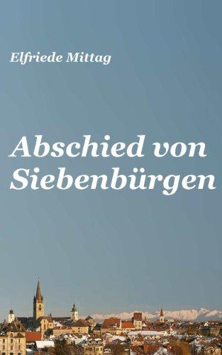 9783000408052: Abschied von Siebenbürgen