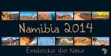 9783000411939: REWENI-Namibia-Kalender 2014: Entdecke die Natur