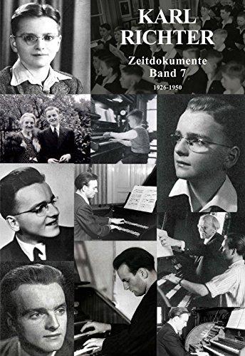 9783000420948: Karl Richter, Zeitdokumente: Band 7, Kindheit und Jugend 1926-1950