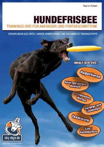 9783000431241: Hundefrisbee Trainings-DVD für Anfänger und Fortgeschrittene [Alemania]