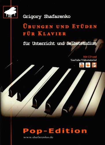 9783000440694: Übungen und Etüden für Klavier: für Unterricht und Selbststudium. Pop-Edition