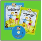 9783000460241: LetsGoEnglish with Peter and Jane, 2 Broschüren und 1 Audio CD