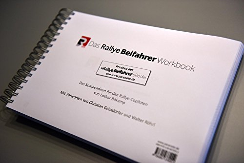 9783000479892: Das Rallye-Beifahrer Workbook