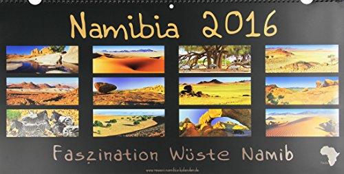 9783000484407: REWENI-Namibia-Kalender 2016: Entdecke die Natur