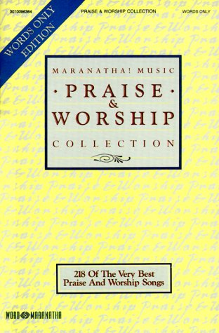 9783010096362: Praise & Worship Collection Words Only