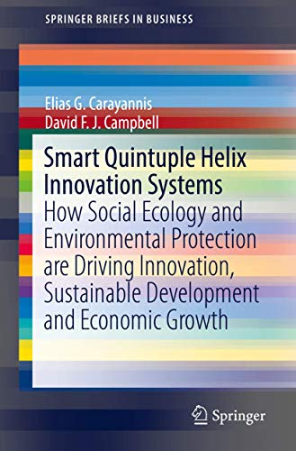 9783030015169: Smart Quintuple Helix Innovation Systems: How Social Ecology and Environmental Protection are Driving Innovation, Sustainable Development and Economic Growth (SpringerBriefs in Business)