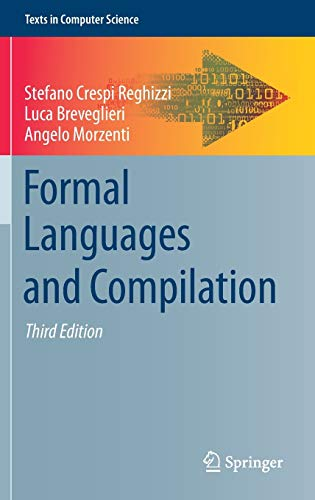 9783030048785: Formal Languages and Compilation