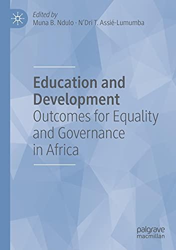 Education and Development: Muna Ndulo (editor),