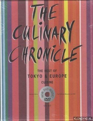 9783033001251: The Culinary Chronicle, Vol 8: The Best of Tokyo und Europe, english Edition (incl. DVD)