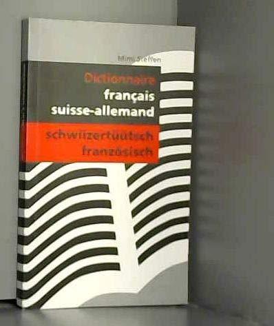 9783033010147: Dictionnaire - Francais - Suisse-Allemand /Schwiizertüütsch - Französisch by ...
