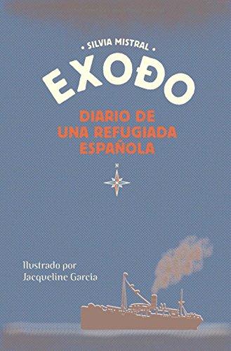 9783033042858: Exodo diario de una refugiada española