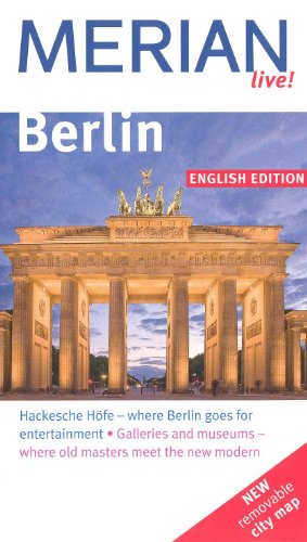9783033333628: BERLIN City Guide, pocket size, with a street map MERIAN