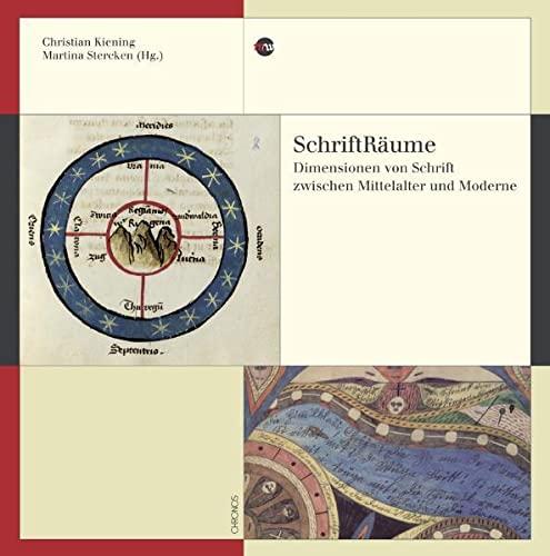 9783034008969: SchriftRäume: Dimensionen von Schrift zwischen Mittelalter und Moderne