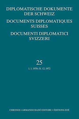 Diplomatische Dokumente der Schweiz: Sacha Zala