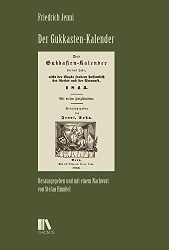 Der Gukkasten-Kalender: Jenni Friedrich