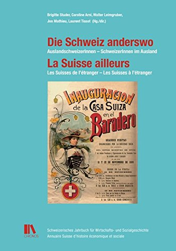 Die Schweiz anderswo - La Suisse ailleurs: Brigitte Studer