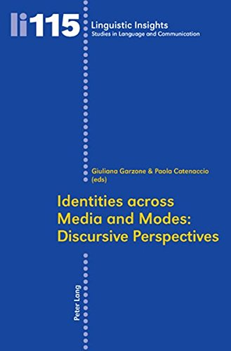 9783034303866: Identities across Media and Modes: Discursive Perspectives (Linguistic Insights)