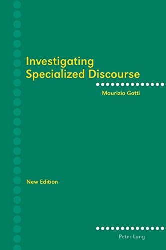 9783034306706: Investigating Specialized Discourse
