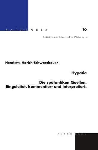Hypatia: Henriette Harich-Schwarzbauer