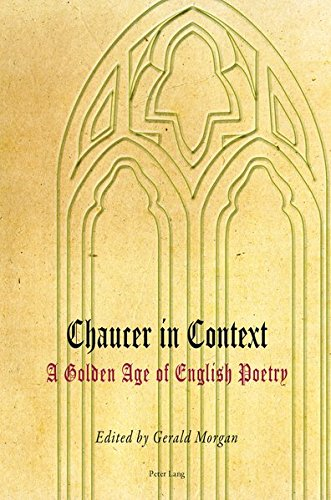 9783034307659: Chaucer in Context: A Golden Age of English Poetry