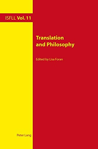 9783034307949: Translation and Philosophy (Intercultural Studies and Foreign Language Learning)