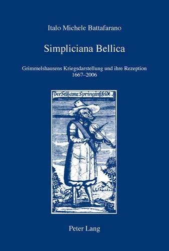 Simpliciana Bellica: Italo Michele Battafarano