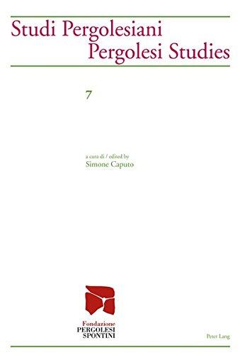 Studi Pergolesiani- Pergolesi Studies a cura di / edited by Simone Caputo: Caputo, Simone Hrsg...
