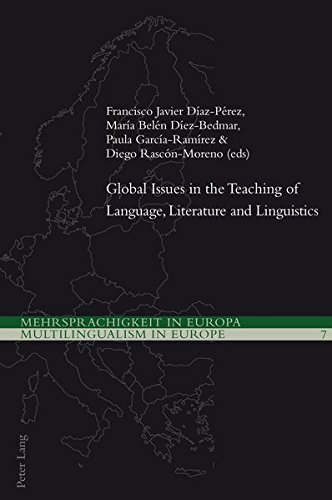Global Issues in the Teaching of Language,: Francisco Javier Díaz-Pérez