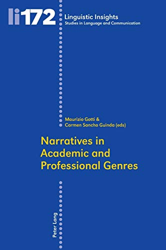 Narratives in Academic and Professional Genres (Linguistic