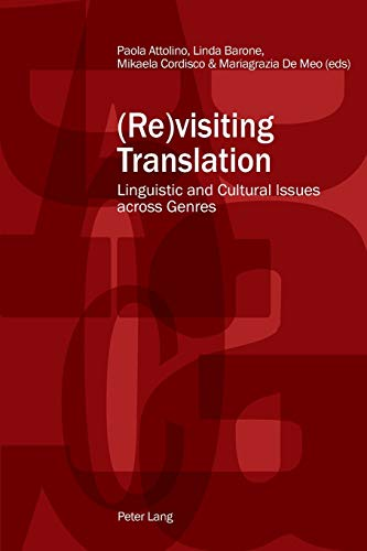 9783034316859: (Re)visiting Translation: Linguistic and Cultural Issues across Genres