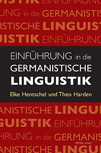 9783034317405: Einfuehrung in die Germanistische Linguistik