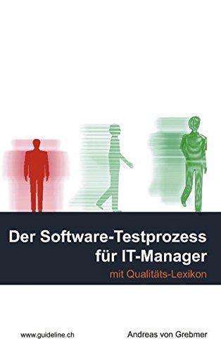 9783034400794: Der Software-Testprozess für IT-Manager