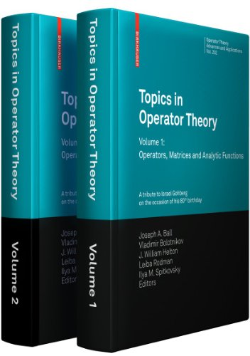 9783034601634: Topics in Operator Theory (Operator Theory and Applications)