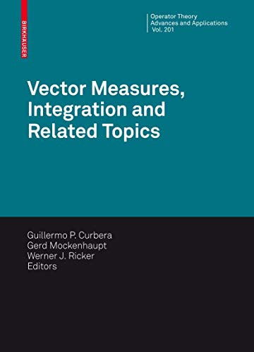 Vector Measures, Integration and Related Topics (Hardcover)