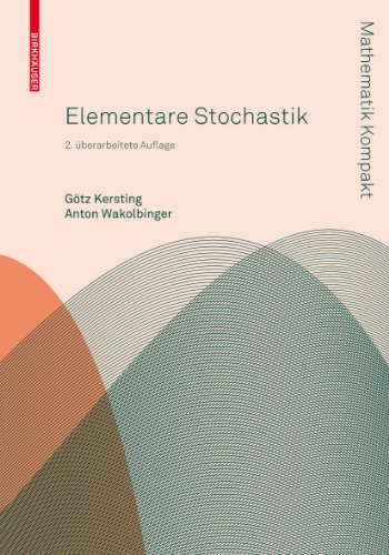 9783034604130: Elementare Stochastik (Mathematik Kompakt)
