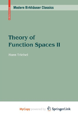 9783034604208: Theory of Function Spaces II