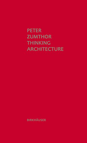 9783034605854: Thinking Architecture, 3rd Edition