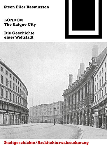 9783034608206: LONDON. The Unique City (Bauwelt Fundamente) (German Edition)