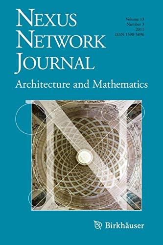 Nexus Network Journal 13,3: Architecture and Mathematics: Birkhäuser