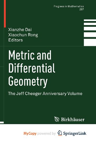 9783034802581: Metric and Differential Geometry: The Jeff Cheeger Anniversary Volume