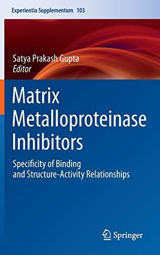 Matrix Metalloproteinase Inhibitors: Satya Prakash Gupta