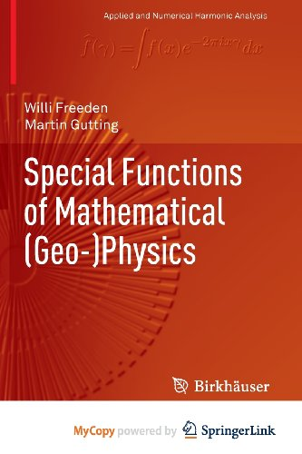 9783034805643: Special Functions of Mathematical (Geo-)Physics