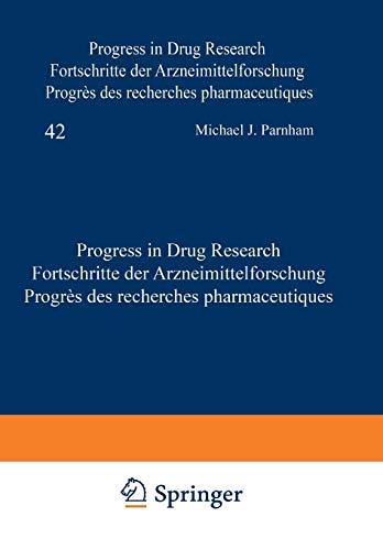 Progress in Drug Research / Fortschritte der: Parnham, M.J. [Contributor];