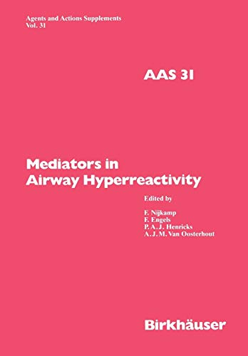 9783034873819: Mediators in Airway Hyperreactivity (Agents and Actions Supplements)