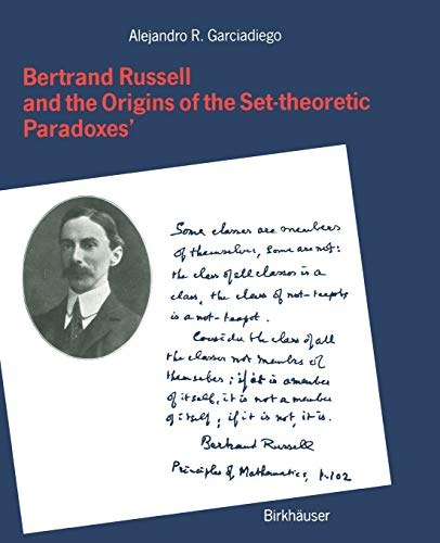 9783034874045: Bertrand Russell and the Origins of the Set-theoretic 'Paradoxes'