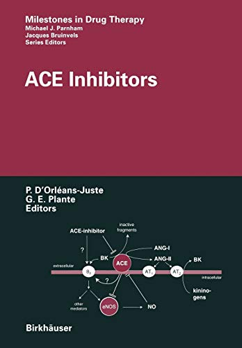 9783034875813: ACE Inhibitors (Milestones in Drug Therapy)