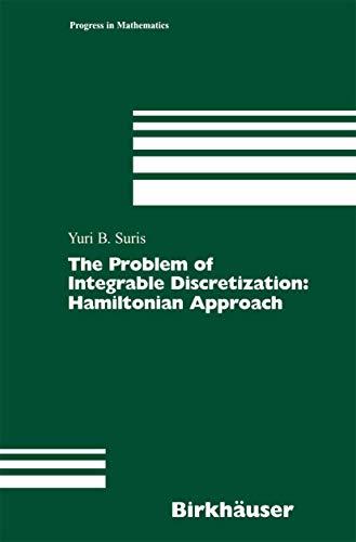 The Problem of Integrable Discretization: Yuri B. Suris