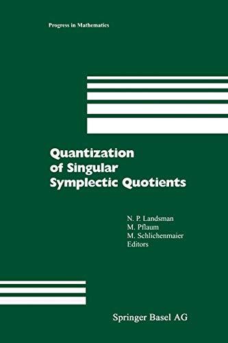 9783034895354: Quantization of Singular Symplectic Quotients (Progress in Mathematics)