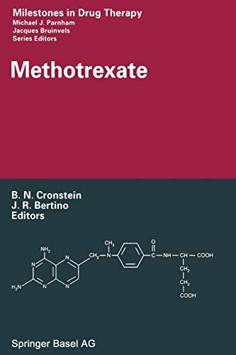 9783034895736: Methotrexate (Milestones in Drug Therapy)