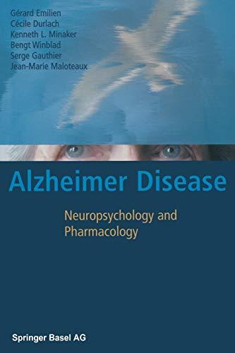 9783034895910: Alzheimer Disease: Neuropsychology and Pharmacology